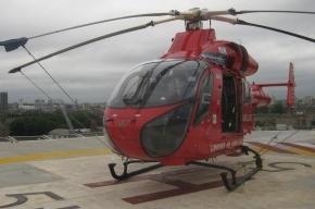 В Петербурге вертолетную площадку построили посреди жилого квартала