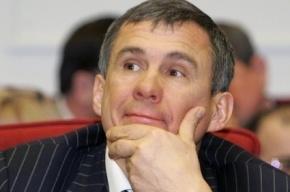 СМИ: В 2014 году глава Татарстана станет премьер-министром РФ
