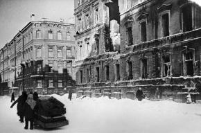 Смольный собрался реконструировать блокаду Ленинграда