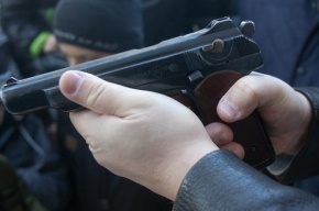 В Петербурге хулиганы попытались отобрать табельное оружие у полицейского