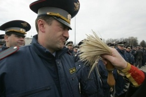 В Петербурге инспектор ГИБДД пойман при получении взятки