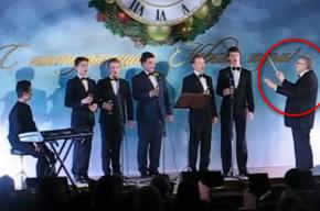 Нарышкин и Жириновский зажгли на новогоднем корпоративе в Госдуме