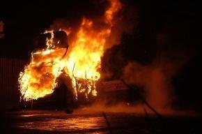 В Пятигорске автомобиль взорвался вместе со зданием ГИБДД