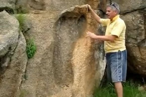 В Африке обнаружили след древнего великана размером 1,2 метра