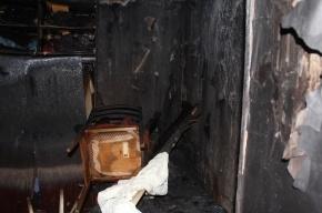 В Калининском районе при пожаре погибли два человека