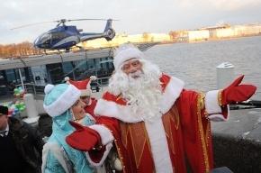 Невский и Лиговский проспекты перекроют ради Деда Мороза