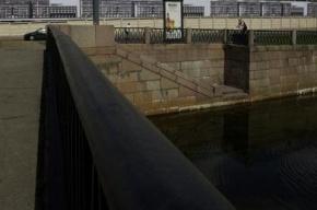 В Петербурге «Тойота» упала в реку Карповку