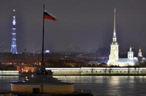 В Петербурге телебашня прервет вещание на две ночи