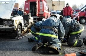 На Бухарестской улице столкнулось шесть автомобилей