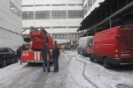 Пожар на территории завода Козицкого : Фоторепортаж