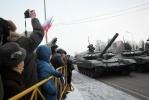 Военный парад, посвященный 70-летию полного освобождения Ленинграда от фашистской блокады: Фоторепортаж