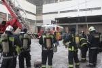 Фоторепортаж: «Пожар на территории завода Козицкого »