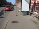 Остановки и столбы в Петербурге: Фоторепортаж