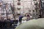 Захват протестующими Майдана/Евромайдана здания Министерства юстиции  : Фоторепортаж