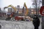 Снос на Литовской улице: Фоторепортаж
