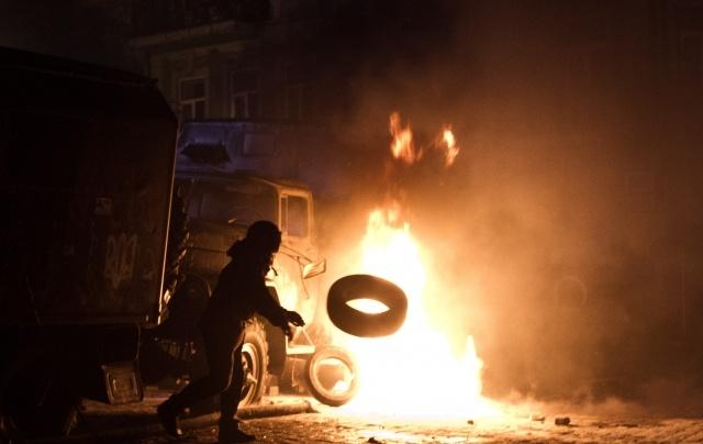 Майдан в Киеве 21 января 2014 года: Фото
