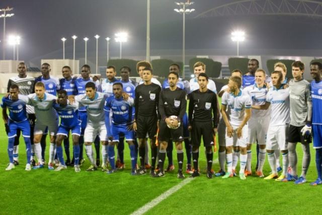«Зенит» и «Аль Хиляль» сыграли вничью в Катаре : Фото