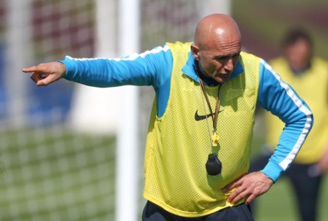 "Тренировка ""Зенита"" в Катаре 17 января 2013 года : Фото"