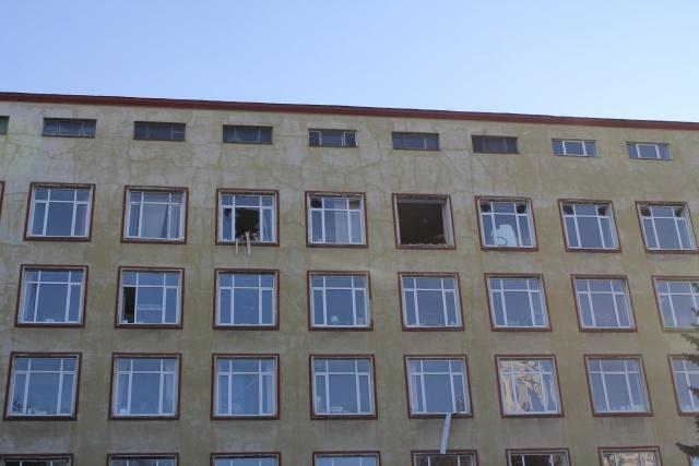 700 человек находились во время взрыва в здании института в Петербурге : Фото
