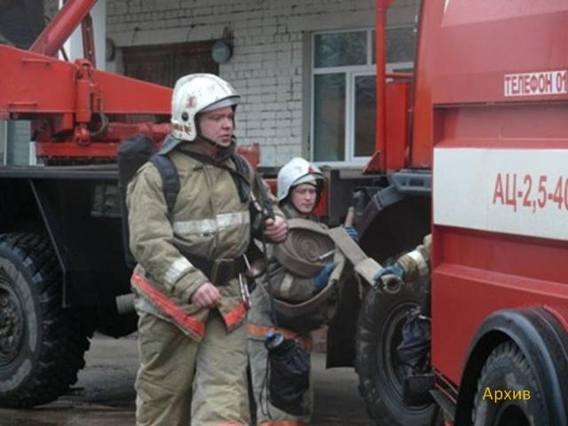 Пожар на территории завода Козицкого : Фото