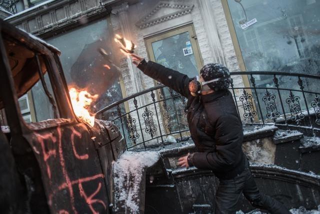 Майдан 23 января 2014 : Фото