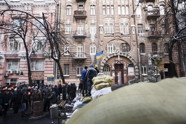 Захват протестующими Майдана/Евромайдана здания Министерства юстиции  : Фото