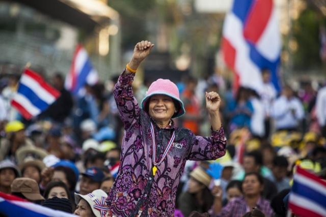 Волнения в Бангкоке-2014: Фото
