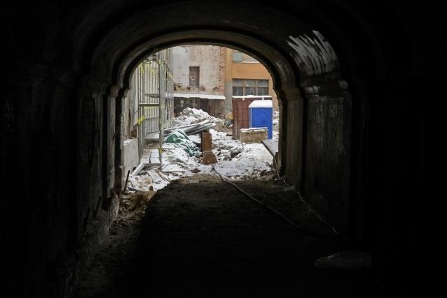 Проблема с канализацией на Галерной улице: Фото