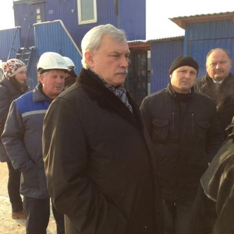 Полтавченко запустил строительство продолжения Фрунзенского радиуса: Фото