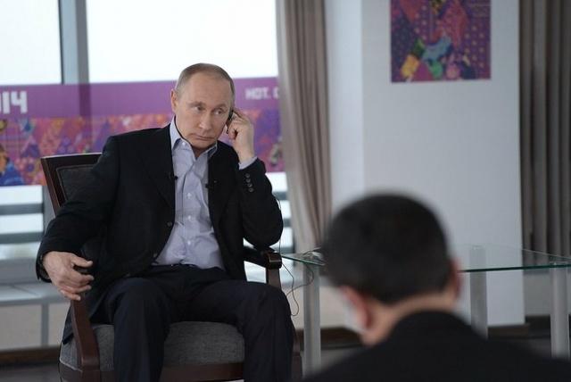 Интервью Путина российским и иностранным СМИ 19 января 2014 года: Фото