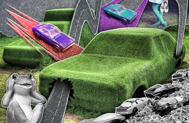 Штраф за парковку на газоне увеличили до полумиллиона, но штрафовать никого не будут
