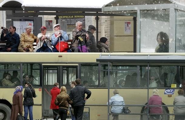 Шесть причин, почему остановки транспорта в Петербурге никуда не годятся