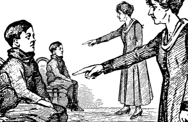 Почему-то мы не прощаем своим детям того, что простили бы другим