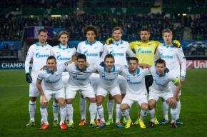 Матчи «Зенита» заняли ведущие позиции в рейтинге трансляций игр в еврокубках