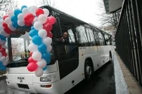 В январе автобусы в Петербурге оснастят турникетами
