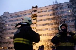 На Васильевском острове горело здание завода Козицкого