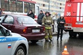 В массовом ДТП на Дальневосточном пострадали две женщины