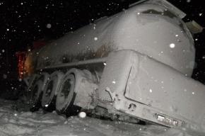 В Нижегородской области при столкновении автобуса с грузовиком погибли двое, пострадали 11 человек