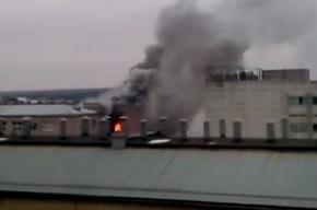 Восемь человек погибли при пожаре на заводе в Харькове