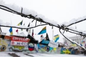 На новогодней елке на Майдане обнаружили повешенного
