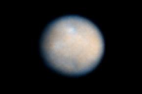 На карликовой планете Церера обнаружили фонтаны пара