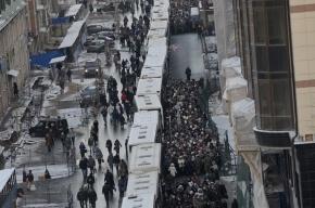 Дары Волхвов в Петербурге увидели 144 тысячи верующих