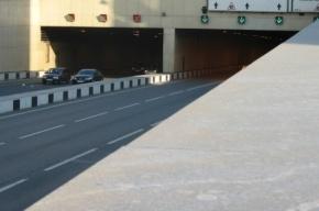 Крупное ДТП на время парализовало движение в Лефортовском тоннеле