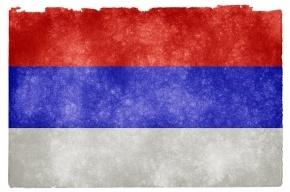На площади Александра Невского российские флаги повесили вверх ногами