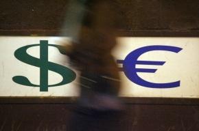 Доллар стал дороже 34 рублей, а евро подорожал до 46