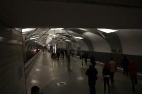 В московском метро задержан мужчина, ехавший на сцепке между вагонами