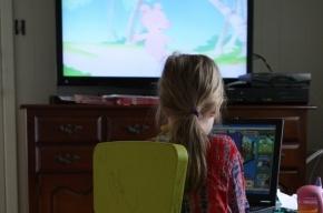 Длительный просмотр телевизора изменяет структуру детского мозга