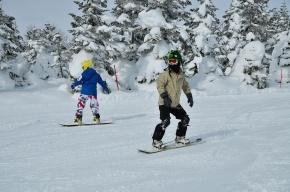На курорте «Игора» под Петербургом разбился сноубордист