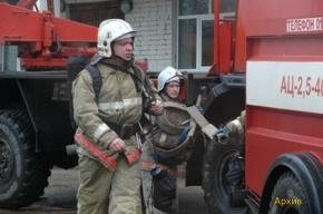Пожар на территории завода Козицкого разгорелся с новой силой