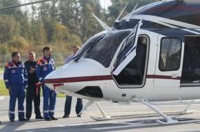 Пять пострадавших в ДТП в Ленобласти доставлены вертолетом в Петербург